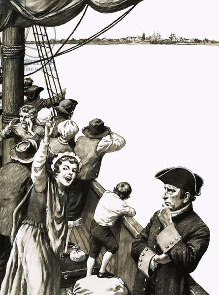 David Thomson did not share in the general excitement as the ship neared Nova Scotia