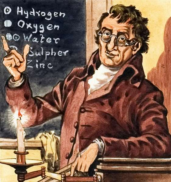 John Dalton, founder of chemical atomic theory