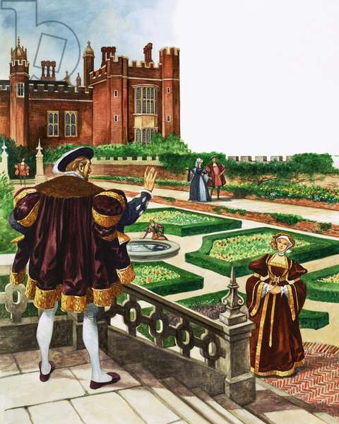 Once Upon a Time... a stroll around the Tudor garden