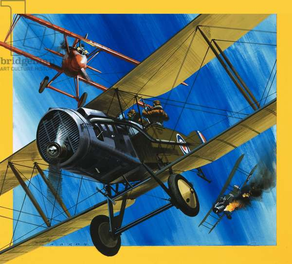 Planes from the Past: The Bristol F2B Fighter