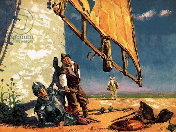 Don Quixote's Crazy World