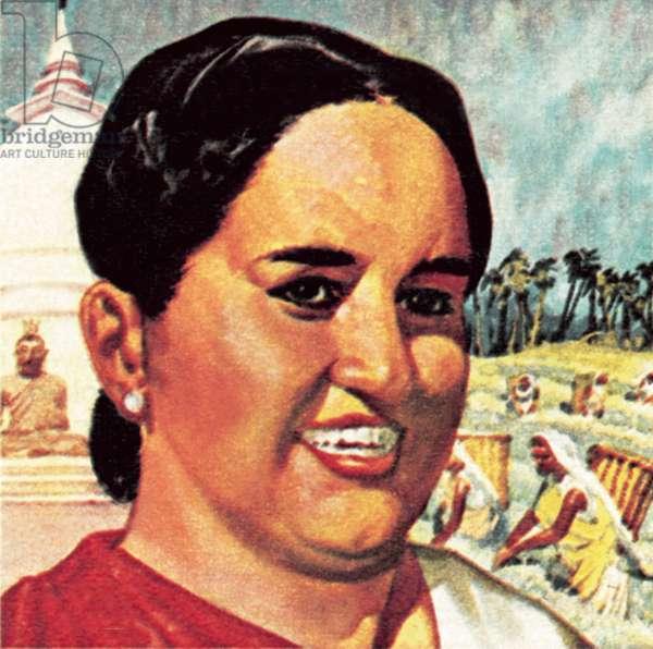 Mrs Sirimavo Bandaranaike