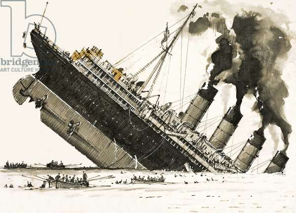 The Great Steamers: The sinking of the Lusitania