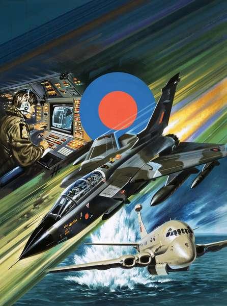 Training for the Tornado strike aircraft