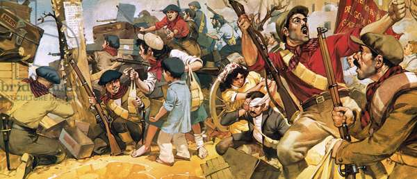 The defence of Madrid during the Spanish civil war