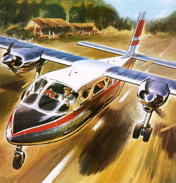 Take-off for success: The Britten-Norman Islander.