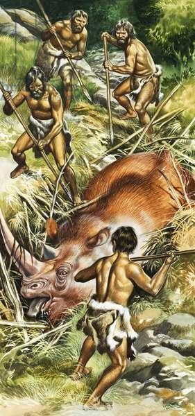 Prehistoric hunters