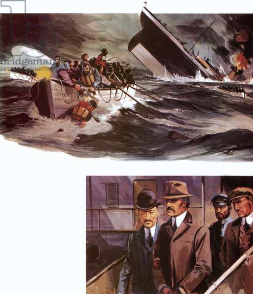 Sinking of Titanic and arrest of Dr Crippen