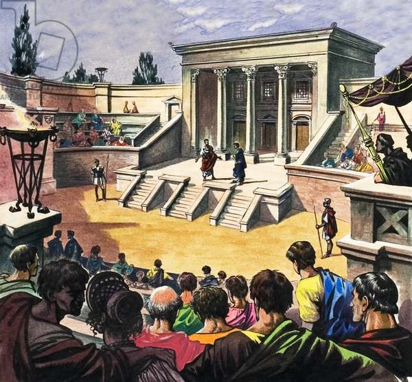Roman theatre in Britain