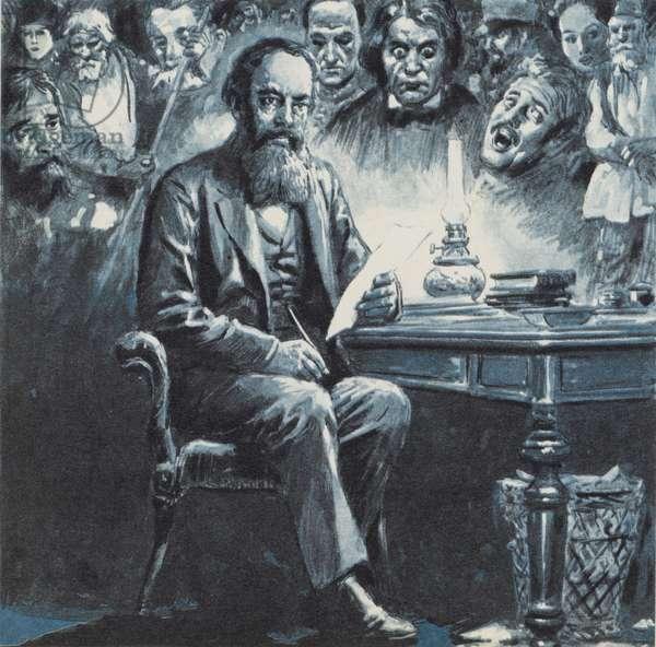 Dostoevsky (colour litho)