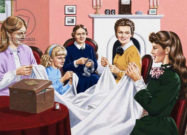 A scene from Little Women