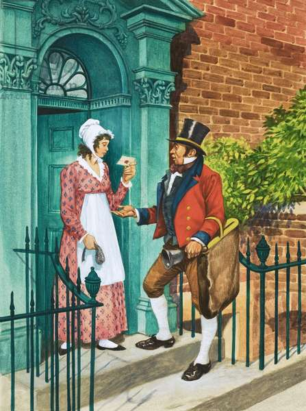 Cash on Delivery! The first British postal service