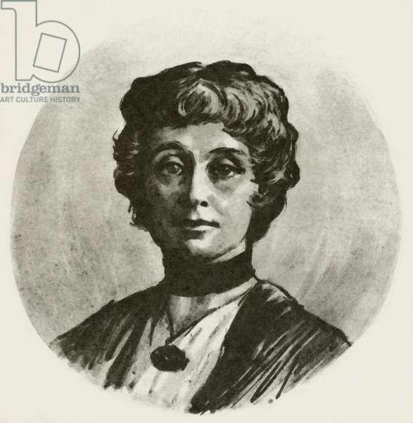 Emmeline Pankhurst (litho)
