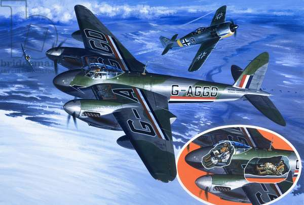 Civilian flights during WW2