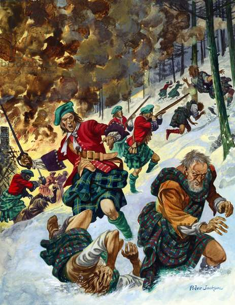 The Massacre of Glencoe