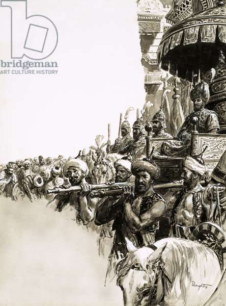 Suleiman the Magnificent was given an enthusiastic welcome by the people of Constantinople