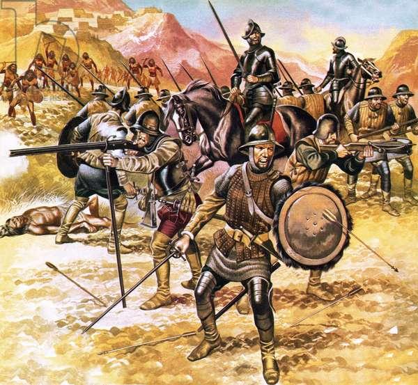 Francisco de Coronado's expedition into the American West