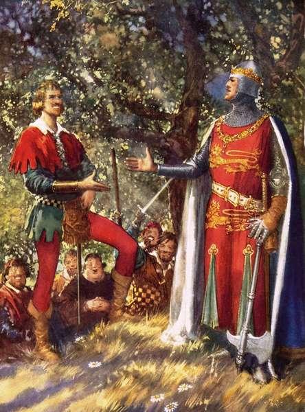 Robin Hood and Richard the Lionheart