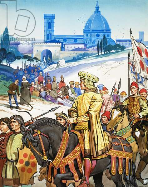 Great Events in History: The Italian Renaissance -- Florence and the Medici