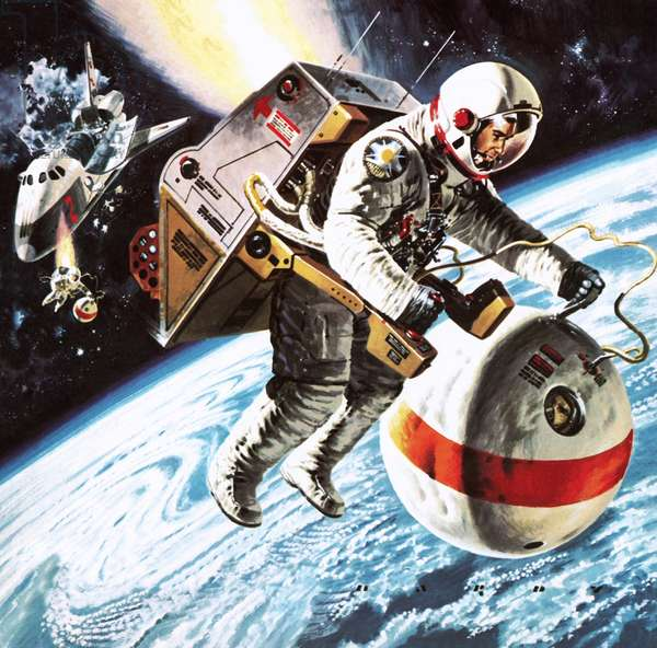 'Lifeboats' in space, as imagined in 1976