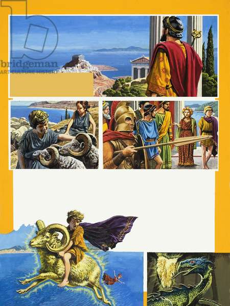 Legends of Ancient Greece: The Story of the Golden Fleece