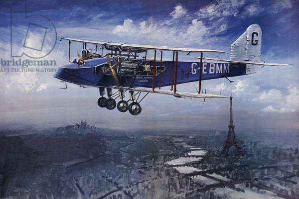 Imperial Airways (colour litho)