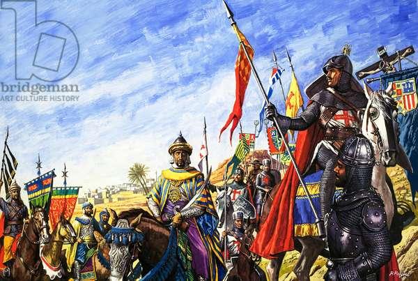 Frederick II in the Crusades