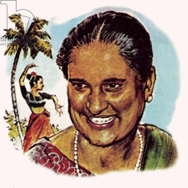 Mrs Bandaranaike, Prime Minister of Ceylon
