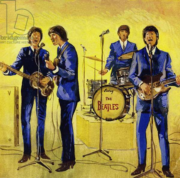 The Beatles (colour litho)