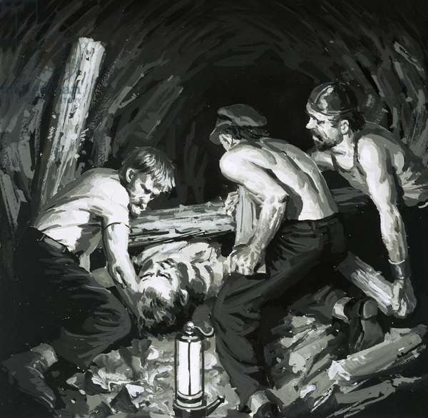 Unidentified mining disaster