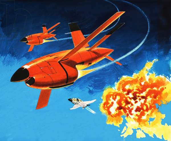 Into the Blue: the radio-controlled Firebee drone