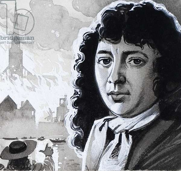 Samuel Pepys and the Great Fire of London