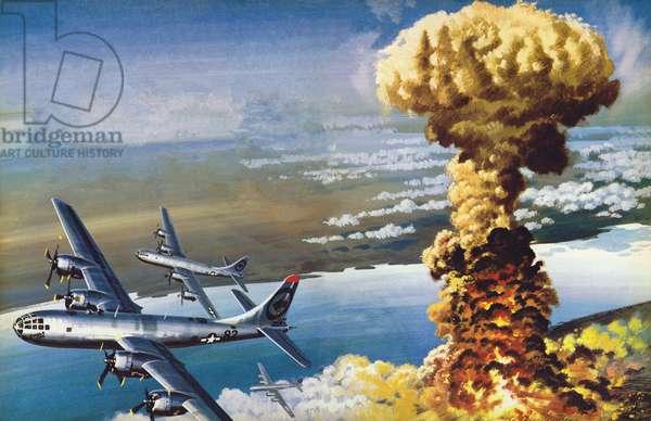 Hiroshima, The End (colour litho)