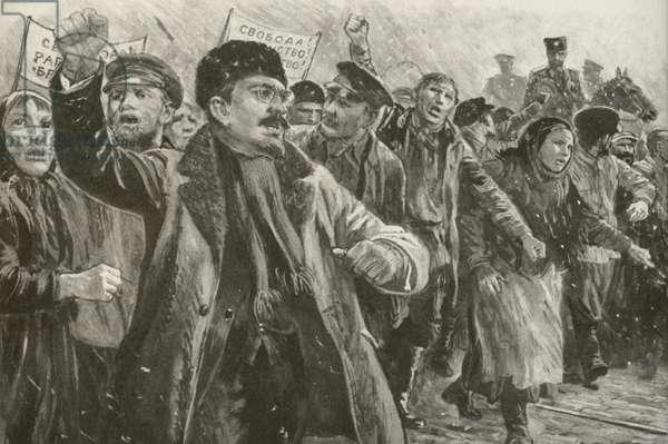Leon Trotsky (litho)