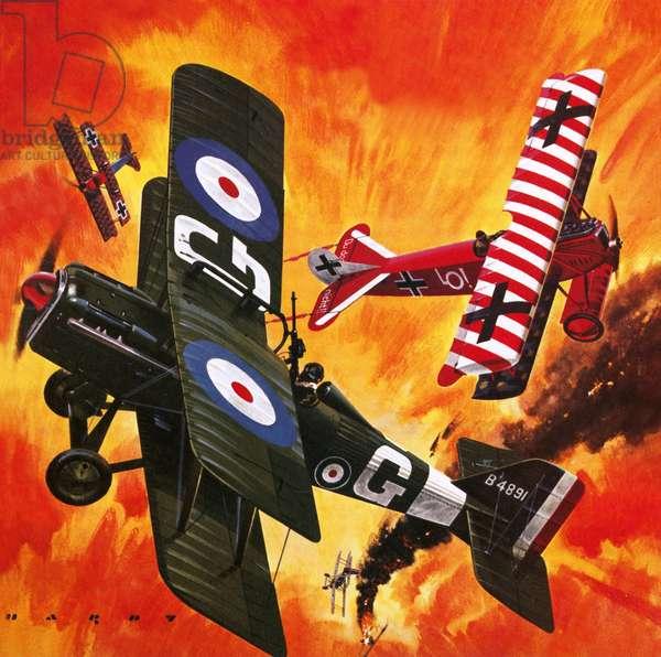 The birth of aerial warfare