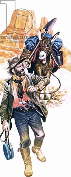Californian gold prospector