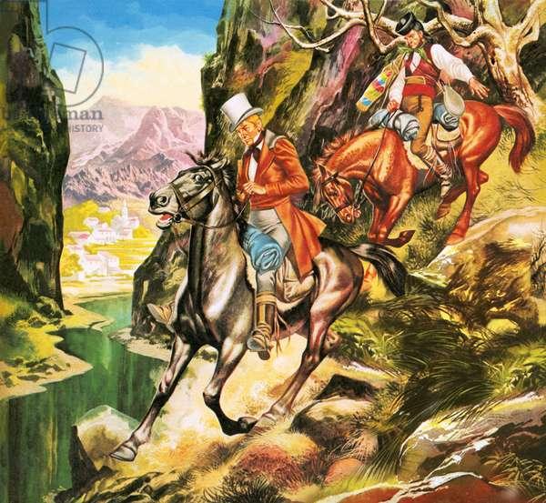 George Borrow, the Roving Adventurer