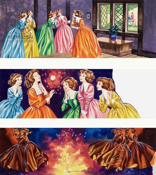 Illustrations from Beauty and the Beast