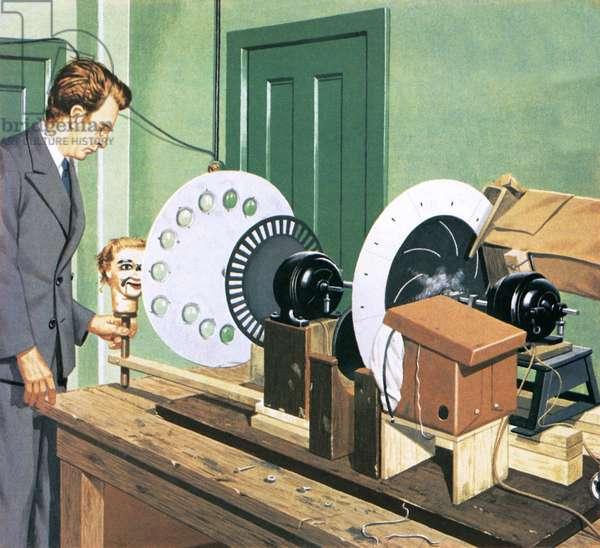 John Logie Baird, pioneer of television