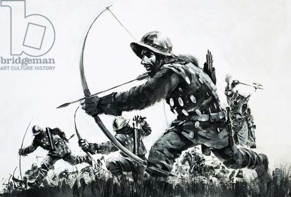 Bowmen at the Battle of Bannockburn