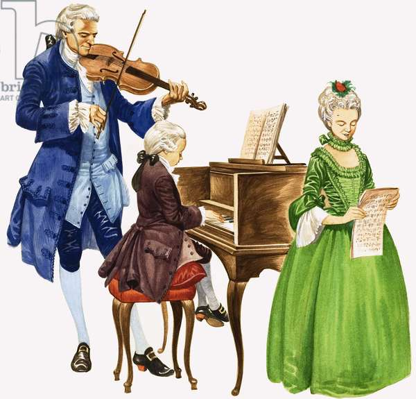 When They Were Young: Mozart and his Music