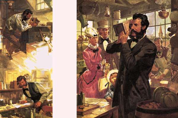 Alexander Graham Bell -- The First Telephone Call