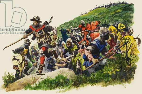 The Battle of Banockburn