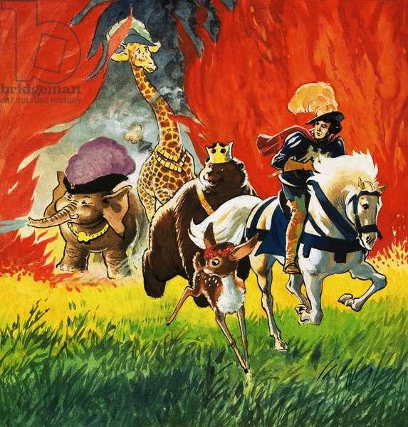 Princess Marigold and the Magic Spell