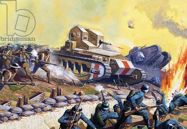 Tanks on the Western Front