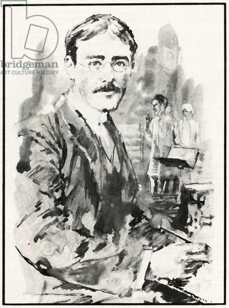 Rudyard Kipling (litho)