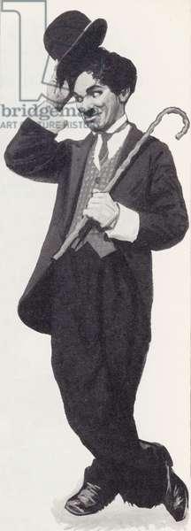 Charlie Chaplin (litho)