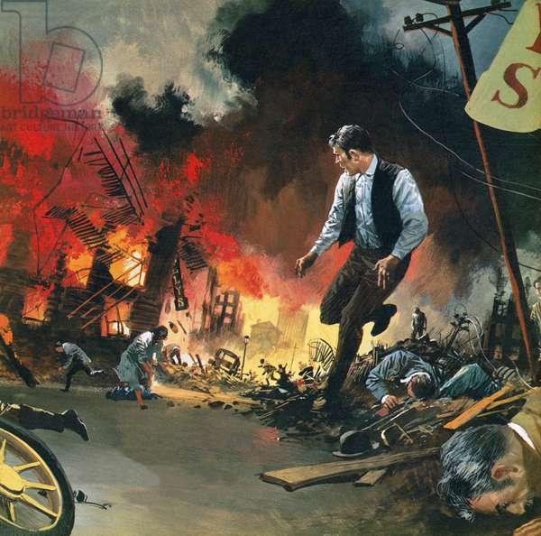San Francisco earthquake of 18 April 1906