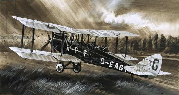A De Havilland DH98 of Aircraft Transport & Travel Ltd.