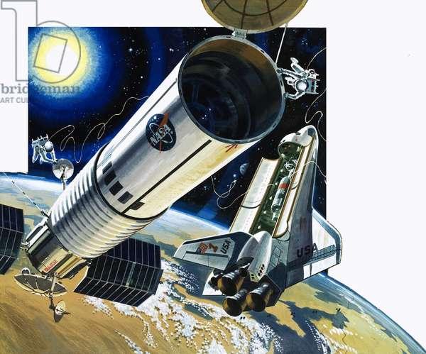 Unidentified space shuttle scene